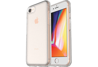 OTTERBOX Symmetry Clear Handyhülle, Apple iPhone 7 Plus, iPhone 8 Plus, Transparent/Stardust