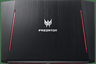 ACER Predator Helios 300 (PH317-51-78QW), Gaming Notebook mit 17.3 Zoll Display, Core™ i7 Prozessor, 256 GB SSD, 1 TB HDD, GeForce® GTX 1060 , Schwarz