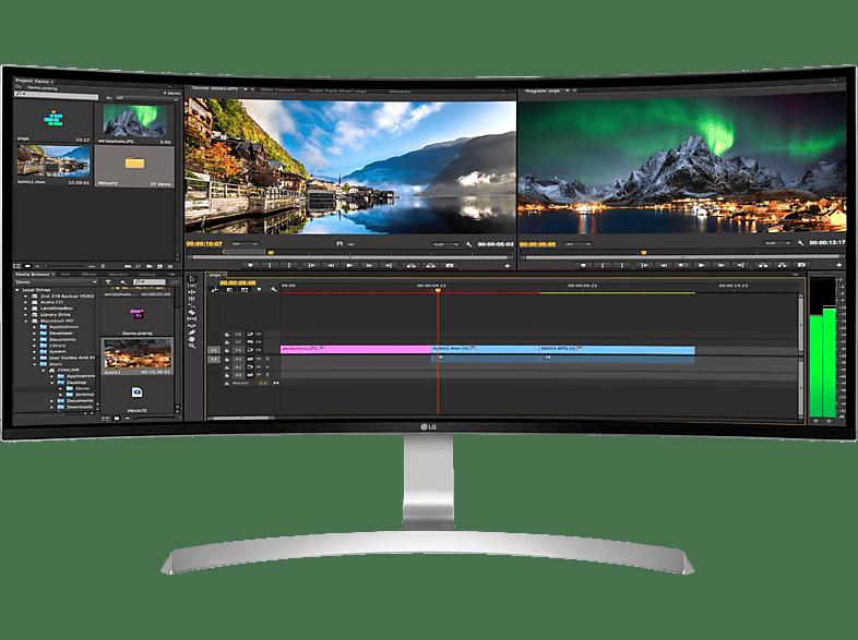 LG 34UC99-W Curved UltraWide 34 Zoll QHD Gaming Monitor (5 ms Reaktionszeit, FreeSync, 60 Hz)
