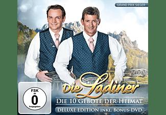 Die Ladiner - Die 10 Gebote der Heimat-Del  - (CD + DVD Video)