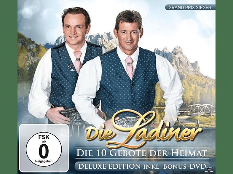 Die Ladiner - Die 10 Gebote der Heimat-Del [CD + DVD Video]