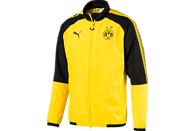 PUMA Borussia Dortmund Freizeitjacke, Schwarz/Gelb