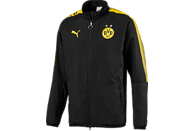 PUMA Borussia Dortmund Freizeitjacke, Schwarz