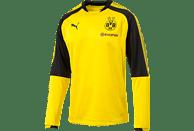 PUMA Borussia Dortmund Trainingspullover, Schwarz/Gelb