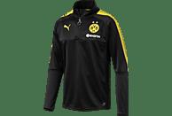 PUMA Borussia Dortmund Trainingstop, Schwarz/Gelb