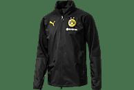 PUMA Borussia Dortmund Regenjacke, Schwarz