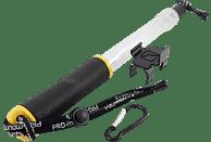PRO-MOUNTS AquaPole, Handstativ, Transparent/Schwarz/Gelb, passend für GoPro und weitere Actioncams