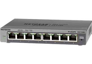 NETGEAR GS108E - Switch (Grigio)