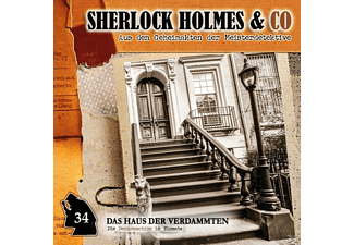 Sherlock Holmes & Co - Das Haus Der Verdammten-Folge 34  - (CD)