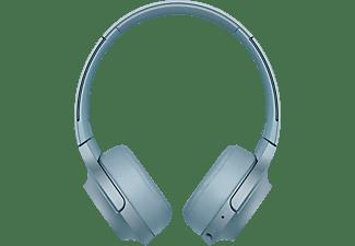 Auriculares inalámbricos - Sony WHH800L, Bluetooth, NFC, Azul lunar