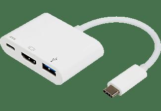 HUB USB - Vivanco, 3en1 USBC - HDMI