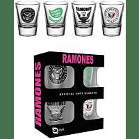 EMPIRE The Ramones Mix Schnapsglas-Set Schnapsglas-Set, Mehrfarbig