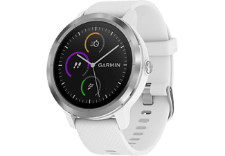 GARMIN Vivoactive 3, WW, White Silicone - Stainless Steel
