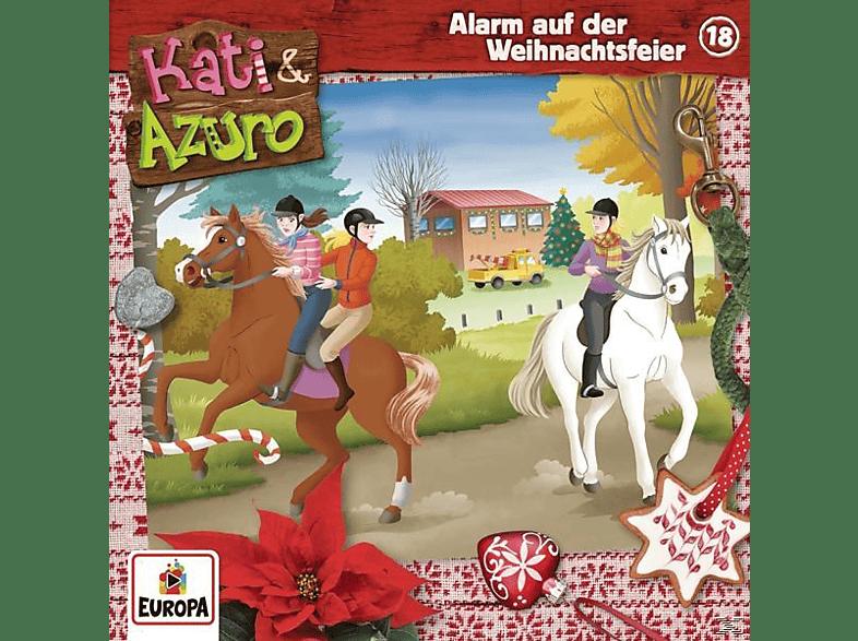 Kati & Azuro - 018/Alarm auf der Weihnachtsfeier - (CD)