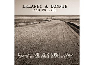 Delaney & Bonnie & Friends - Livin' On The Open Road Live At The A&R Recording Studios 1971 - (CD)