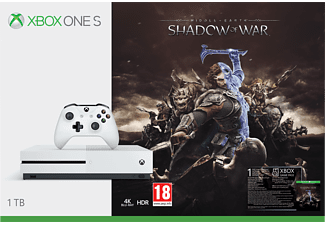 MICROSOFT Xbox One S 1TB Shadow of War