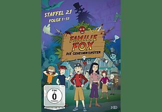 Familie Fox – Die Geheimnishüter Staffel 2.1 DVD