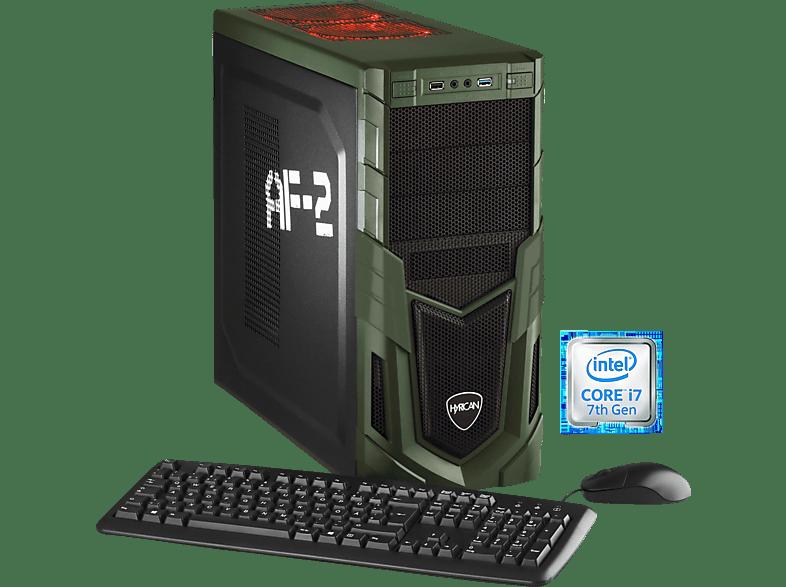 HYRICAN MILITARY GAMING 5721, Gaming PC mit Core™ i7 Prozessor, 32 GB RAM, 240 GB SSD, 2 TB HDD, Geforce® GTX 1080 Ti, 11 GB