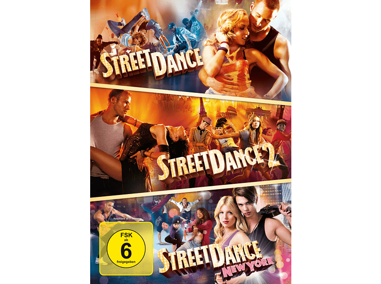 StreetDance 3er-DVD-Box [DVD]
