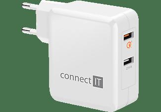 CONNECTIT QUALCOMM QUICKCHARGE 3.0 Netzteil Universal, Weiß