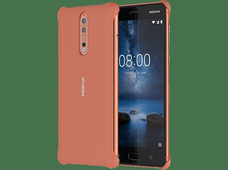 NOKIA CC-801 Backcover Nokia 8  Rot