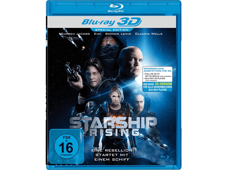 STARSHIP RISING REAL 3D [3D Blu-ray]