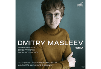 Dmitry Masleev, Tatarstan National Symphony Orchestra - KLaviersonaten/Klavierkonzert  - (CD)