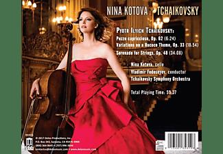Kotova,Nina/Fedoseyev,Vladimir/Tchaikovsky SO - Serenade for Strings/Variations on a Rococo Theme/  - (CD)