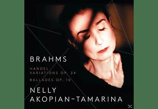 Nelly Akopian-tamarina - Händel-Variationen/4 Balladen  - (CD)