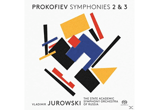 The State Academic Symphony Orchestra Of Russia - Sinfonien 2+3  - (SACD)