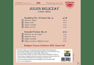Tamàs Gàl, Budapest Concert Orchestra Mav - Sinfonie 1/Serenade  - (CD)