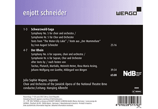 Wagner,J.S./Albrecht,H./Orch.of the Janacek Oper - Schwarzwald-Saga/Der Rhein  - (CD)
