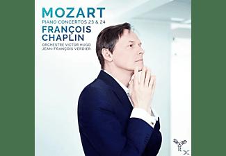 Orchestre Victor Hugo Franche-Comte, François Chaplin - Klavierkonzerte 23 & 24  - (CD)