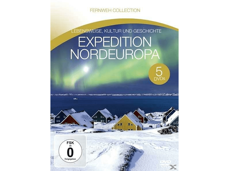 Fernweh Collection - Expedition Nordeuropa [DVD]