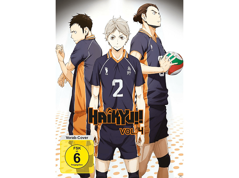 Haikyu!! Vol.4/Episode 19-25 [DVD]