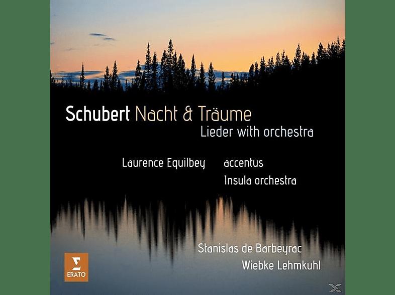 Stanislas de Barbeyrac, Wiebke Lehmkuhl, Accentus, Insula Orchestra - Nacht und Träume [CD]