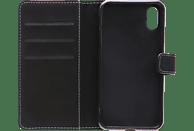 V-DESIGN NFC 144 , Bookcover, Apple, iPhone X, Kunstleder, Schwarz