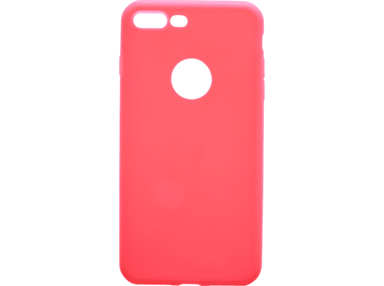 V-DESIGN VMT 204 , Backcover, Apple, iPhone 8 Plus/iPhone 7 Plus, Thermoplastisches Polyurethan, Rot