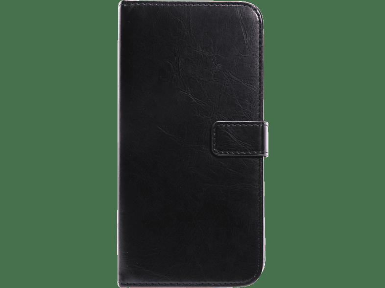 V-DESIGN BV 305 , Bookcover, Apple, iPhone 8 Plus, Schwarz