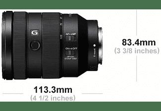 SONY Objektiv FE 24-105mm f4.0 G OSS Schwarz (SEL24105G)