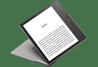 KINDLE Oasis eBook Reader 8GB, silber/schwarz