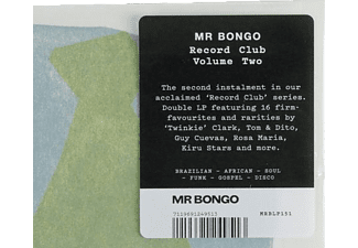 VARIOUS - MR Bongo Record Club-Vol.2  - (Vinyl)