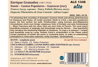 Orquesta Filarmónica De Gran Canaria, VARIOUS - Granados - 5 Pieces Of Polular Spanish Songs  - (CD)