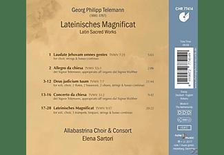 Elena Sartori, Allabastrina Choir And Consort - Lateinisches Magnificat  - (CD)
