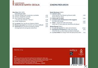 Luigi Piovano, Archi Di Santa Cecilia - Cinema Per Archi  - (CD)