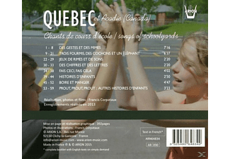 VARIOUS - Kinderlieder aus aller Welt Vol.19-Quebec & Aca  - (CD)