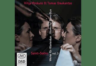 Vilija Poskute, Tomas Daukantas - Werke für 2 Klaviere & Klavier zu 4 Händen,Vol.3  - (SACD Hybrid)