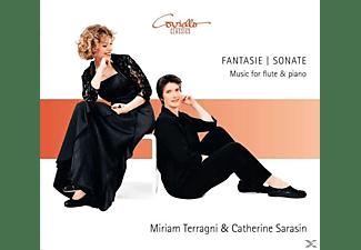 Catherine Sarasin, Miriam Terragni - Spätromantische Musik für Flöte und Klavier  - (CD)