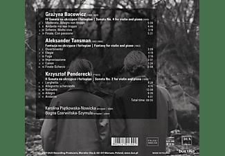 Piatkowska-Nowicka,K./Czerwinska-Szymula,B. - Werke für Violine und Klavier  - (CD)