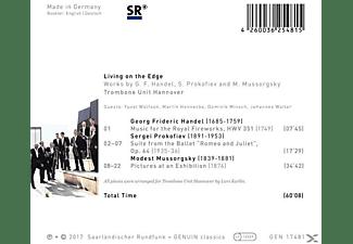 Trombone Unit Hannover - Living On The Edge  - (CD)